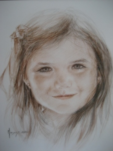 Retratos Masago Dibujo 1