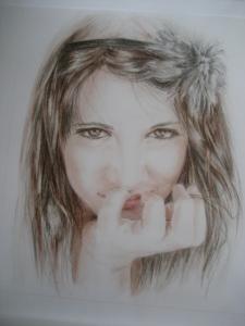 Retratos Masago Dibujo 2